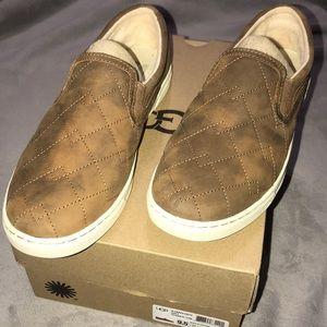 UGG Fierce Deco Quilt Chestnut Loafer